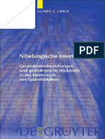 Nibelungische Intertextualität Generationenbeziehungen und genealogische Strukturen in der Heldenepik des Spätmittelalters by Gunda Lange (z-lib.org)