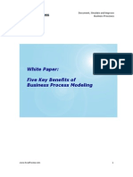 White Paper - 5 Key Benefits of Business Process Modeling