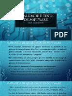 Aula04-Garantia de Qualidade de Software