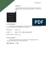 División de Expresiones Algebraicas