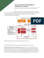 El Proceso de Producción Escrita_ Estrategias de Planificación, Textualización y Revisión