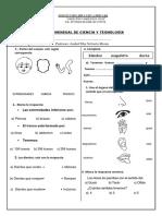 Examen Mensual de Ciencia y Tegnología