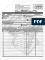 Pesquisa de Preços para UEXs