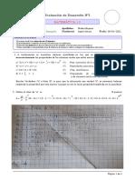 Evaluacion Unidad 1 Mat