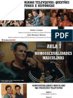 Aula 7. Homossexualidades Masculinas