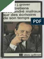 Six entretiens avec André Malraux sur des écrivains de son temps (1959-1975) by André Malraux, Frédéric J. Grover  Frédéric J. Grover [Malraux, André  Grover, Frédéric J.] (z-lib.org)