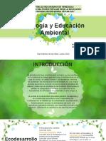 Ecologia y Educación Ambiental