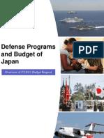 Defense Programs and Budget of Japan