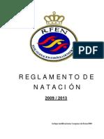 Reglamento Natación y Aspectos Técnicos 2009-2013