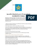 Apostila Alquimia para Prosperidade