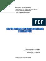 Capitalismo, neoliberalismo e inflacion