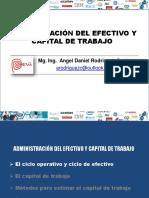 EFECTIVO Y CAPITAL DE TRABAJO SESION 04