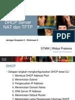 DHCP Server NAT dan TFTP