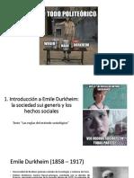 1. Introducción a Durkheim
