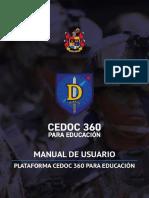 Manual de Usuario Plataforma CEDOC 360 Para Educación (1)