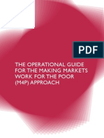 2009 DFID Operation Guide M4P Approach