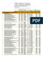 Прайс-лист для сайта (XLSX)