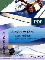Banque de QCMs Droit Medical Version 04