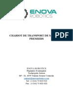 CHARIOT DE TRANSPORT DE MATIERES PREMIERS