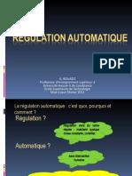 Régulation automatique GMII 2021D