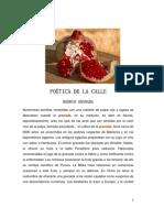 POÉTICA DE LA CALLE