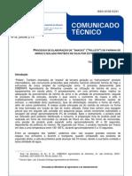 PROCESSO DE ELABORAÇÃO DE SNACKS DE FARINHA
