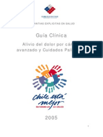 Alivio Del Dolor y Cuidados Paliativos 2005