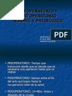 P.O. NORMAL Y PATOÓGICO