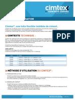 notice_d_utilisation_cimtex