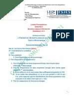 Séances 8 9 Et 10 s3 Echantillonnage Et Estimation Pr Smouni Dec 2020