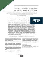 MODELO DE AVALIAÇÃO DE TRANSTORNOS DE APRENDIZAGEM POR EQUIPE INTERDISCIPLINAR
