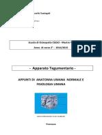 A- Anatomia e Fisiologia - App. TEGUMENTARIO -