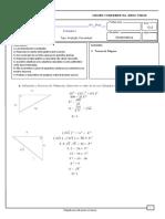 Teorema de PItagoras.