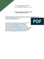 2016. La observación y descripción barrial en la formación de ts