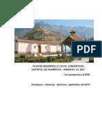 18.24 Plan de Desarrollo Concertado (PDC)