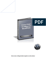 Como Crear Mi Blog Gratis Con Word Press