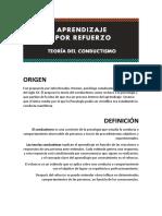 Trabajo Conductismo (Infografía)