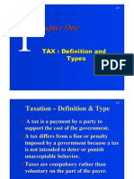 CHAPTER1-TAXES AND DEFINITIONS