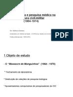 Seminário Ditadura