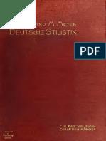 Meyer Stilistik Deutschestilisti00meyeuoft