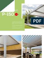 Pergola P 150 Brochure /PUIGMETAL®