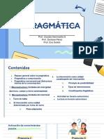 Clase 1 sesión 2 Concepto de pragmática conversacional 2021
