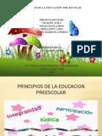 DIAPOSITIVAS....Principios de La Educacion Preescolar VIII SEM