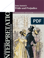 Jane Austen's Pride and Prejudice (Bloom's Modern Critical Interpretations)