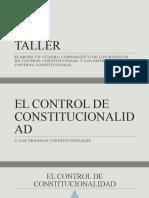 8 El Control de Constitucionalidad y Los Organos Constitucional