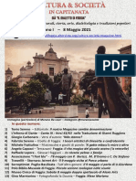 Cultura & Società in Capitanata N. 20 Del 8-05-2021