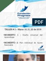 Taller # 2 - 18,21,22 Marzo - Norte de Santander