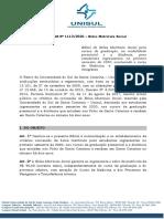 632020 Edital Da Bolsa Matrícula Social UNIEDU