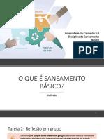 aula 1 e 2 -introdução ao saneamento básicoCX