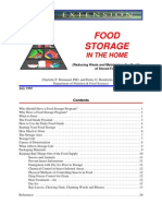 food storage in the home
